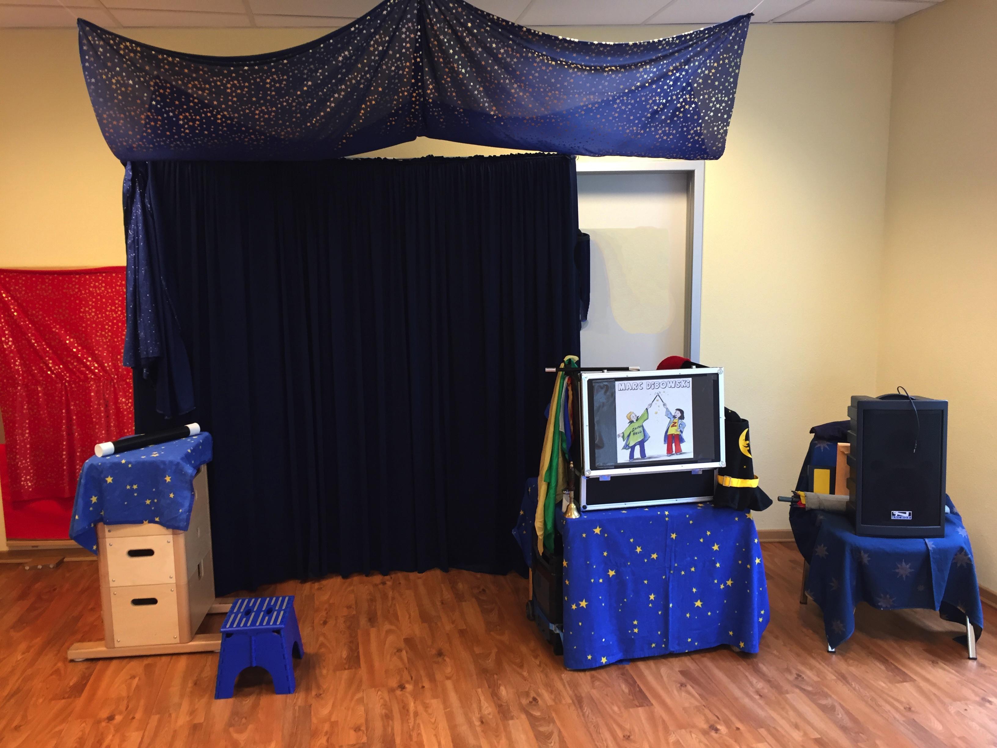 Kinderzauberer Zaubershow Details